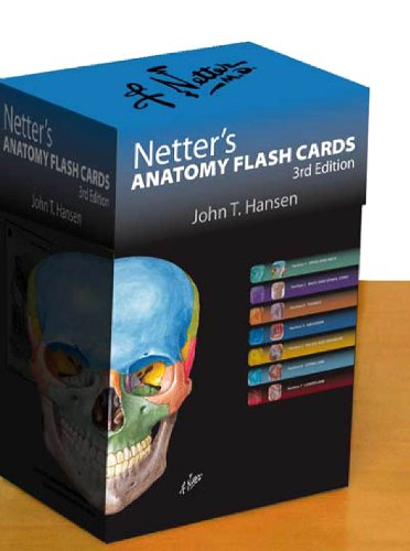 Netter's Anatomy Flash Cards: with Online Student Consult Access (Netter Basic Science)