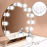 ELECTROPRIME 10Pcs Makeup Mirror Vanity Led Light Bulbs Lamp Kit Lighted Make Up