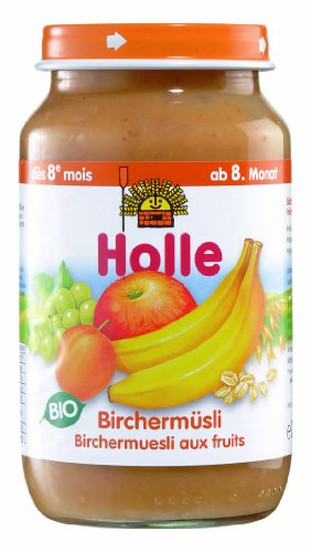 Holle Birchermüsli, 6er Pack (6 x 220 g) - Bio