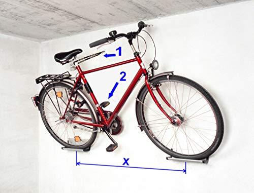 Fahrrad Wandhalterung Eckla Bike Port -...