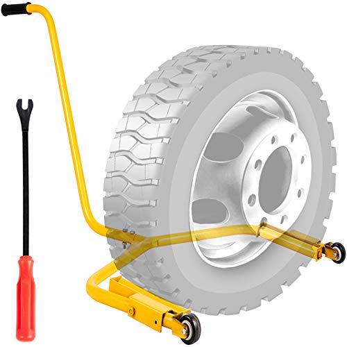 VEVOR 204 kg Reifenmontiergerät Rad Gelb, 450lbs Reifenmontagehilfe, Reifenwechsler, Reifenmontiermaschine, Reifenmontagegerät für Auto, Reifenmontagegerät für Auto, Reifenmontiergerät Reifenmontag