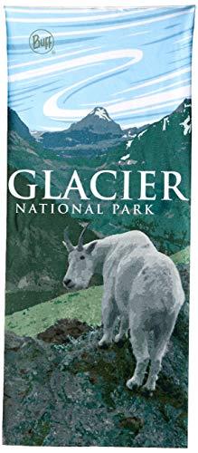 BUFF Unisex Coolnet UV+, National Parks Glacier, One Size
