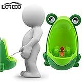 Lorcoo – Urinoir enfant, Urinoir pour garçon en forme de grenouille pour bébé, apprentissage pour uriner