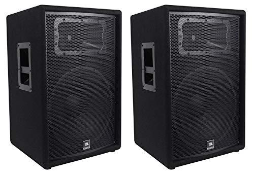 (2) JBL Pro JRX215 15' 2000w Professional Passive PA/DJ Speakers 8 Ohm JRX 215