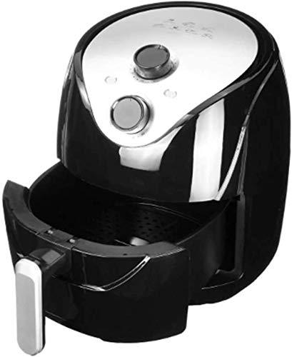 Freidora de aire sin aceite con calefacción eléctrica de 5.5L Horno de reducción de grasa saludable, sartén antiadherente, utilizado para freír, asar a la parrilla, cocinar a fuego lent