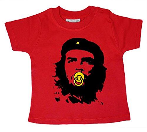Dirty Fingers Baby Che Guevara T-Shirt bébé 18-24 Mois Rouge