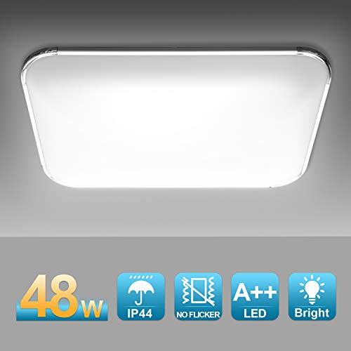 Hengda 48W LED Deckenleuchte, 4320LM LED Panel...