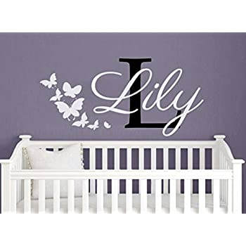 Lucas elegant name wall Decal Vinyl Sticker for boys and girls rooms Personalized name wall Decal Vinyl Sticker made in any colors and size. Nursery Wall Decal Vinyl Stickers