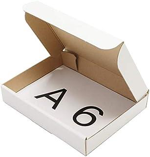 アースダンボール ダンボール 段ボール クリックポスト A6 ゆうパケット 発送 100枚 【158×115×27mm】【0289】