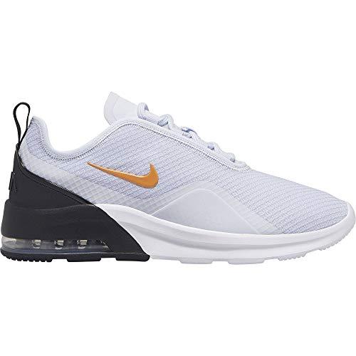 Nike Air MAX Motion 2, Zapatillas Deportivas para Hombre, Platinum Tint/Kumquat/Black, 43 EU