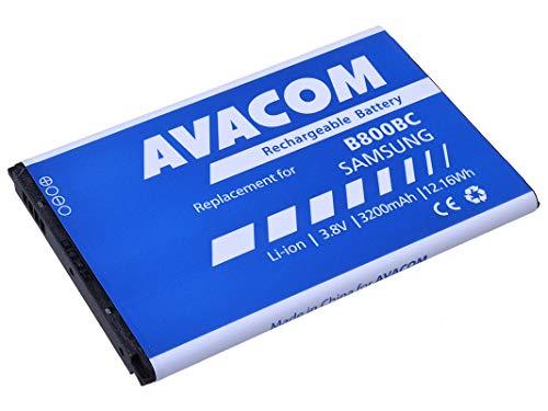 Batería para Samsung N9005 Galaxy Note 3, Ion de Litio, 7 V, 3200 mAh (Repuesto EB-B800BEB)