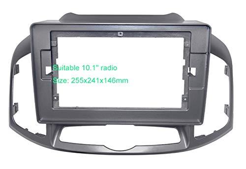 Reunion Adaptador de marco de audio para coche 2DIN para Chevrolet Colorado 10.1 pulgadas pantalla grande tablero montaje panel marco kit
