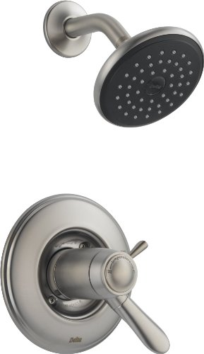 Delta T17T238-SS Lahara Tempassure 17T Series Shower Trim, Stainless, 10.60 x 14.50 x 17.80 inches