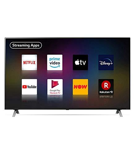 LG 55NANO906NA, 4K/UHD, LED, Smart TV, 139 cm [55 Zoll] mit NanoCell-Technologie, Filmmaker Mode™, Dolby Vision IQ™ und Dolby Atmos® - Schwarz