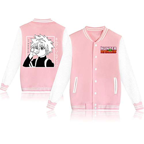 Einson 2021 anime Hunter X Hunter kawaii killua Jacket Baseball Coat Uniform Unisex Hoodie Long Sleeve Sweatshirt