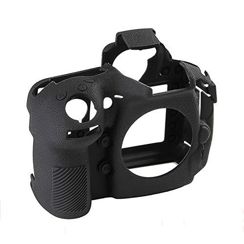 Funda de silicona de goma para cámaras Nikon D810 SLR, funda protectora de cuerpo de la cámara (color: negro)