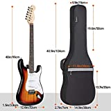 Immagine 1 cahaya borsa chitarra elettrica custodia