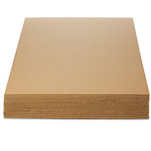 TeleCajas | (30x) Planchas de Cartón Din A1 | (84,1 x 59,4 cms) | - Reforzadas
