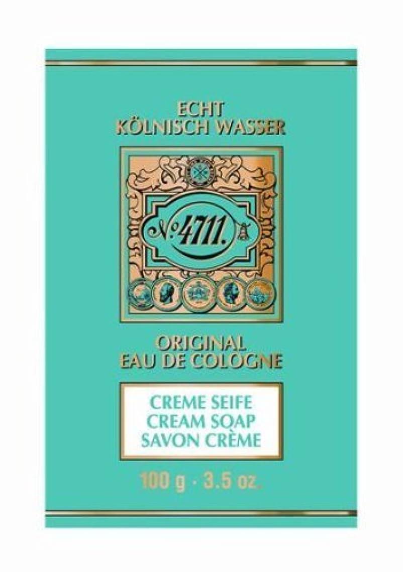 シェード提唱する項目4711 Cream Soap 100g by Globalbeauty [並行輸入品]