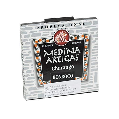 ORTOLA Juego cuerdas charango ronroco af. mi 1265 med. art