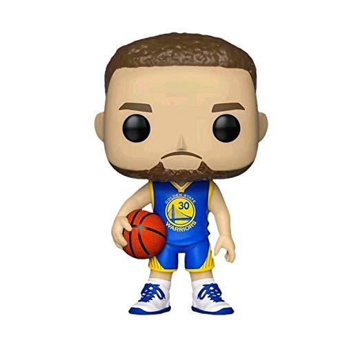 MXXT Pop Figure NBA Figure Stephen Curry #30 GS Limited Edition Chibi PVC Q Version Vinyl 10cm Bobblehead