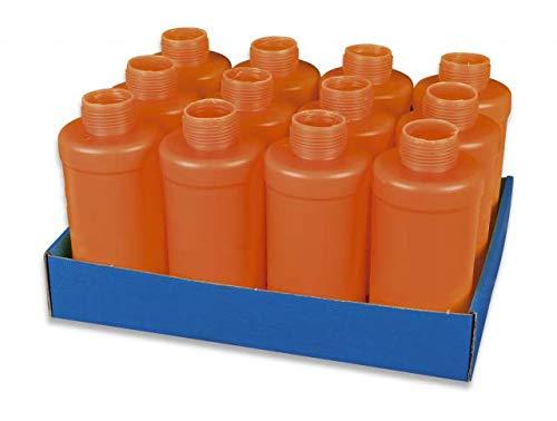 Pack 12 Carcasas Granada CO2 Airsoft Paintball Caza Supervivencia bushcraft Senderismo Camping Outdoor Albainox 38200 + Portabotellas de regalo