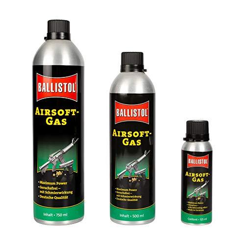 Defence Kit Ricarica Bomboletta Bombola Gas Ballistol per Pistole e Fucili Softair/Airsoft 125/500/700 ml