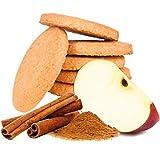 GALLETAS PROTEICAS Line@diet | 7x5 galletas sabor a MANZANA y CANELA | 29% de PROTEIN | Fit Snack 7 MANZANA Y CANELA