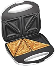 Proctor Silex Sandwich Toaster, Omelet And Turnover Maker, White (25408Y)