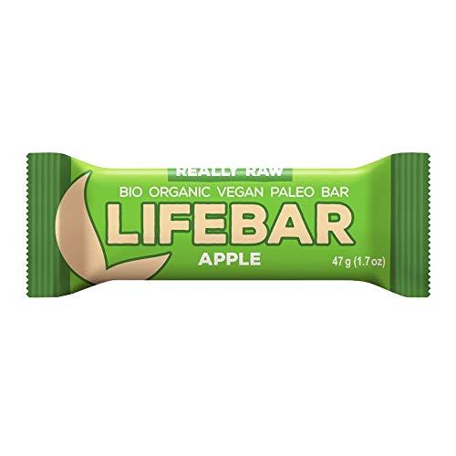 Baton jabłkowy raw bezglutenowy BIO 47 g - Lifefood