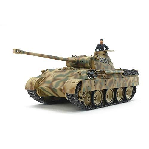 タミヤ 1/48 ミリタリーミニチュアシリーズ No.97 ドイツ軍 パンサーD型 プラモデル 32597