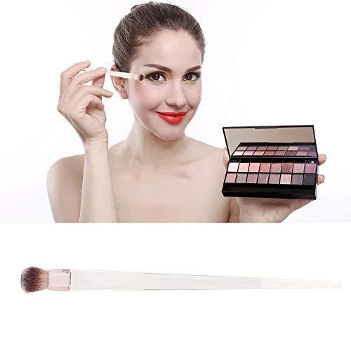 Cosmétiques Pinceau Transparent Acrylique Doux Surligneur Brosse Ombre À Paupières Outil Maquillage Débutant(Eye shadow brush)