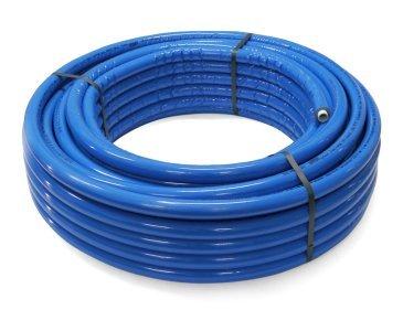 WUNSCHLÄNGE (in Meter) Aluminium-Mehrschichtverbundrohr 16 x 2,0 mm blau 6mm isoliert Rollenware DVGW PIPETEC Kunststoffverbundrohr Aluverbundrohr Ringware PE-RT