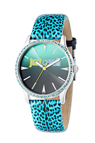 Just Cavalli Reloj analógico para Mujer de Cuarzo con Correa en Piel R7251211504