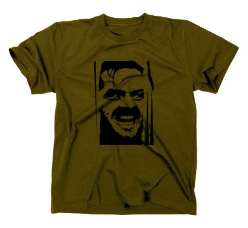 The Shining T-Shirt Fanshirt Kultfilm, oliv, XL