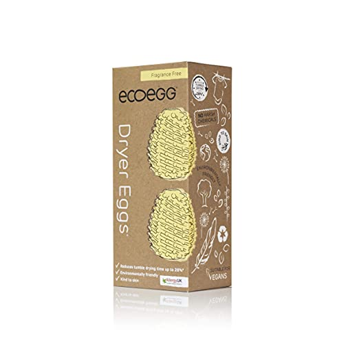 Ecoegg - Uova per asciugatrice, senza profumo, 200 g