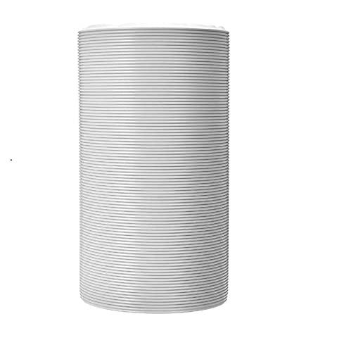 yaoqijie Tubo de la manguera de escape universal del tubo de la manguera de la manguera Universal Ajuste para los acondicionadores de aire portátiles 6 'Parte de la manguera de ventilación Conducto de