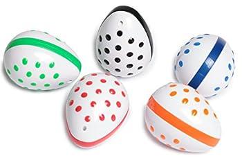 Edushape Musical Instruments Egg Shaker Set Assorted