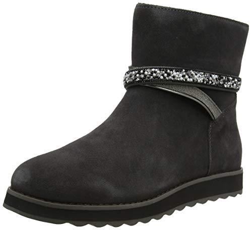 Skechers KEEPSAKES 2.0, Women Ankle Boots, Grey (Charcoal Suede Ccl), 4 UK (37 EU)
