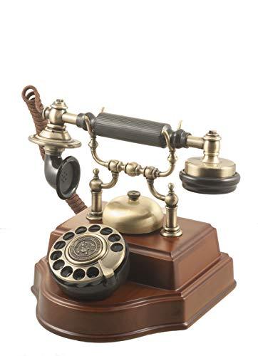 Teléfonos Antiguos 1898TN Retro para decoración Retro Vintage- Teléfonos Retro Que se adaptan a Cualquier línea telefónica Actual, réplicas de teléfono Antiguos.