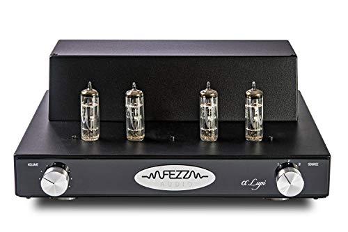 FEZZ Audio Alfa Lupi Push-Pull Verstärker mit 4X PCL86, 2X 10W (schwarz)