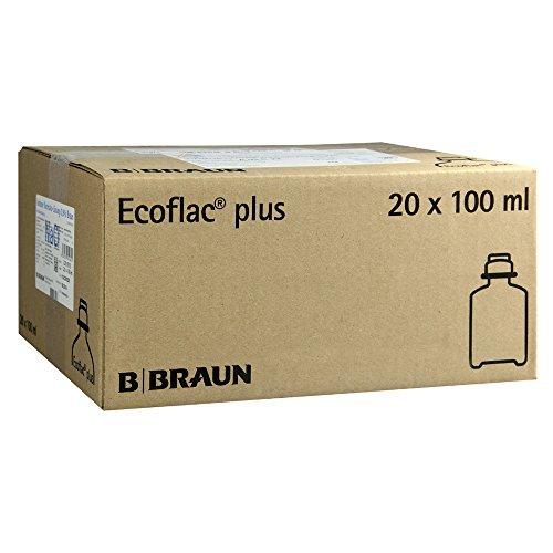 Kochsalzlösung 0,9% Ecoflac Plus, 20X100 ml