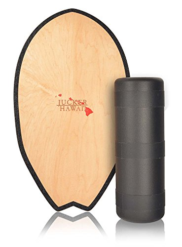 JUCKER HAWAII Balance Board Homerider SURF - Balance Trainer Set inkl. Rolle
