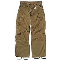Rothco ロスコ 8ポケットパラトゥルーパーカーゴパンツ  ラシャブラウン US-Lサイズ