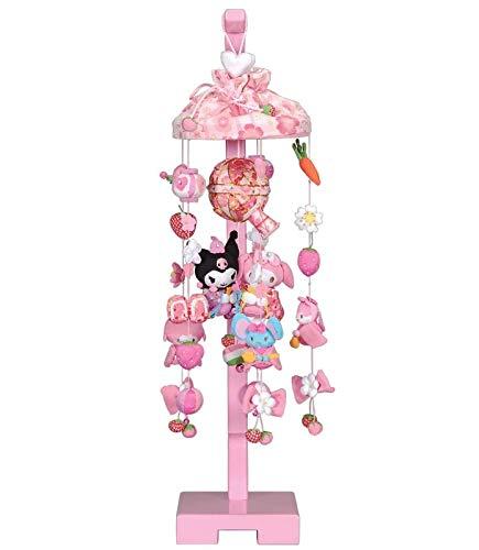 吊るし飾り マイメロディいちご 小 スタンド付き 高さ66cm (sb3-mmi-s)