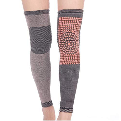 XZJJZ Kneepad-Lange Socken weicher Kaschmir Knie Hohe Beinwärmer for Sport Yoga Mehr Farben erhältlich (Color : B, Size : XL)