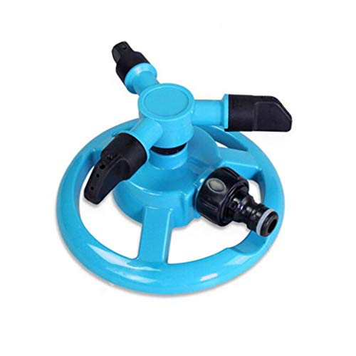 DOITOOL Garden Sprinkler Automatic 360 Rotating Adjustable Garden Water...