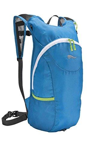 Crivit® Laufrucksack Sportrucksack Extra Leicht 225g 10L Rucksack Tasche Blau