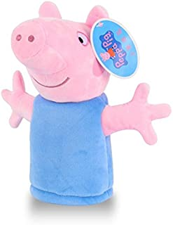 VIETXA Genuine 1PCS 25cm Cute Carton Peppa Hand Puppet Toys Plush Puppets Pig Family Cute Doll Baby Toy Animals Toy - Complete Series Merchandise
