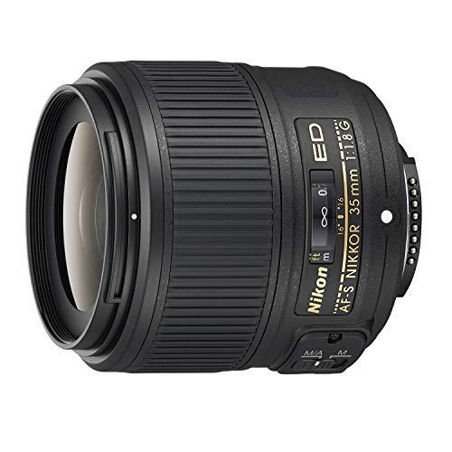 Nikon JAA137DA Lente de cámara Negro - Objetivo (11/8, 0,25 m, Nikon F, 1,8-16, 3,5 cm, 44°)